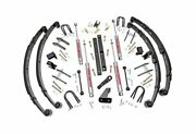 Rough Country 4.5 Suspension Lift Kit For Jeep Wrangler Yj 4wd 614.20