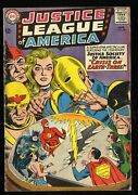 Justice League Of America 29 Vg- 3.5 1st Sa Starman 1st Crime Syndicate