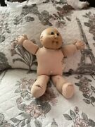 Cabbage Patch Kids Doll 19781982 Xavier Roberts Nude Bald Pacifier Ugly Face