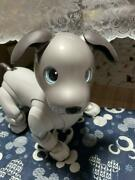 Sony Ers-1000 Aibo Entertainment Robot Dog Ivory White From Jpn Used Free Ship