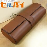 Genuine Rolex All Leather Watch Trunk Watch Case Carrying Bag M1006279141ha