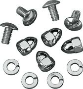 Drag Specialties License Plate Fasteners - Acorn Nuts - Ds-190190