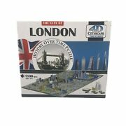 4d Cityscape Jigsaw Puzzle London City Map With Time Layer 1100 Pieces