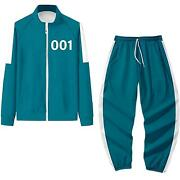 [squid Game] Player Tracksuit Halloween Costume Cosplay Us Seller Fast Shipping