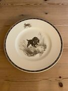 Antique Cocker Spaniel Dog Plate Wedgwood Marguerite Kirmse Hand Painted 1930