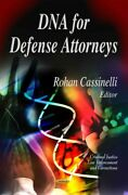 Dna For Defense Attorneys Hardcover By Cassinelli Rohan Edt Like New Use...