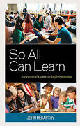 So All Can Learn A Practical Guide To Differentiation By John Mccarthy, New Boo