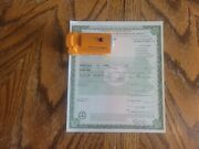 1927 Ford Model T Cp Coupe Paperwork Document