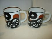 10 Collectible Royal Copenhagen Large Mugs Antique Vintage 1970and039s And 1980and039s