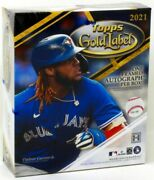 2021 Topps Gold Label Baseball Hobby 16 Box Case Blowout Cards