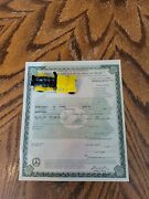 1931 Ford Model A Roadster Paperwork Document