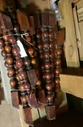Set Of 17 Antique Wooden Balasts These Are From Boxer Joe Louisand039 Home See Desc