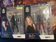 Lot Bst Axn Loyal Subjects Buffy The Vampire Slayer Angel And Buffy Action Figure