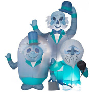 It's Disney Haunted Mansion Hitchhiking Ghost 6' Halloween Yard Inflatable Gemmy