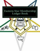 Eastern Star Membership Ledger Book, Paperback By Ap Forms Cor, Like New Us...