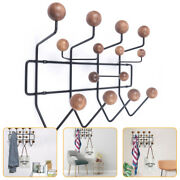 Wall-mounted Coat Clothes Rack Solid Hang Bearing Candy Hooks Home Restaurant