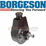 Borgeson Power Steering Pump For 1961-1974 Chevrolet K20 Pickup - Hoses Ba
