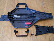 Traxxas Drag Slash 2wd Lcg Chassis Upper Lower Battery Strap And Nerf Bars 94076-4
