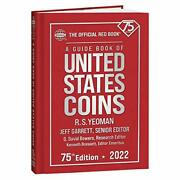 Redbook 2022 Us Coins Hard Cover Guide Book Of United State... By Garrett, Jeff