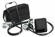 Prestige Sphygmomanometer And Stethoscope Kit With Matching Black Carrying Case