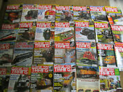 Huge Lot Of 26 Vtg Classic Toy Trains Magazines 2000and039s / Railroad Rr Railroading