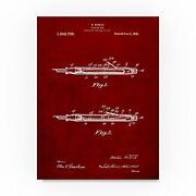 Fountain Pen By Cole Borders 35x47-inch Canvas Wall Art