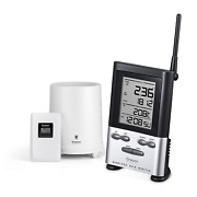 Oregon Scientific Rgr126ny Wireless Rain Gauge With Outdoor Thermometer And Indo