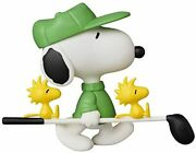 Udf Ultra Detail Figure Peanuts Series 8 Golfer Snoopy Total Height Approx. 2.6