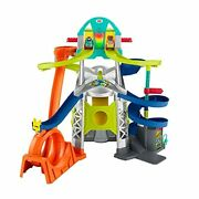 Fisher-price Little People Launch And Loop Raceway Vehicle Playset For Toddlers...