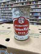 International Frankenmuth Flat Top Beer Cans