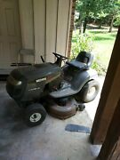 Craftsman Lt 1000 Riding Mower And Wizard Plus Western Auto 2 Used Riding Mowers