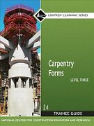 Carpentry Level 3 Trainee Guide Forms, Paperback By Nccer Cor, Like New U...