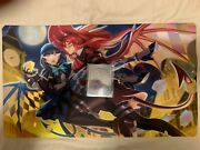 Limited Evil ☆ Twins Kisikil-lilla Holographic 1p Mat And Metal Field Center