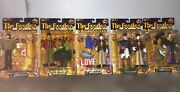 1999 Mcfarlane Set Of 5 The Beatles Yellow Submarine Love Action Figures In Box
