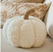 Pottery Barn Pumpkin Pillow Ivory - Sold Out In Stores