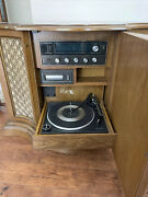 Magnavox Radio Record Player And Tape Player Vintage