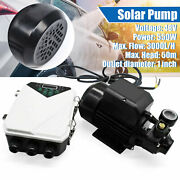 45v Solar Water Surface Pump Pressure Transfer 550w 3000l/h With Mppt Controller