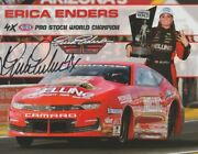 2021 Erica Enders Signed Melling Chevy Camaro Pro Stock Nhra Hero Card