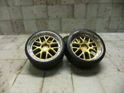 18 For Minicars Custom Wheels 19 Inches Lm-rgold Osr Center Decal Included