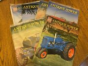 6 Vintage Antique Power Tractor Collector Magazines  Year 2012 2013