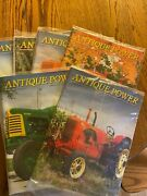 6 Vintage Antique Power Tractor Collector Magazines Complete Year 2011 W Sleeve