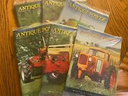 6 Vintage Antique Power Tractor Collector Magazines Complete Year 2010 W Sleeve