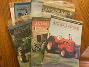 6 Vintage Antique Power Tractor Collector Magazines Complete Year 2007 W Sleeve