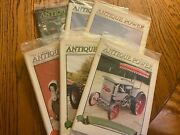 6 Vintage Antique Power Tractor Collector Magazines Complete Year 2005 W Sleeve