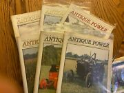 6 Vintage Antique Power Tractor Collector Magazines Complete Year 2003 W Sleeve