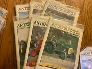 6 Vintage Antique Power Tractor Collector Magazines Complete Year 2002 W Sleeve