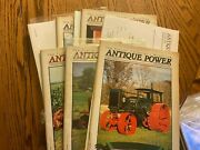 6 Vintage Antique Power Tractor Collector Magazines Complete Year 2000 W Sleeve