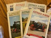 6 Vintage Antique Power Tractor Collector Magazines 1999 Complete Year W Sleeves