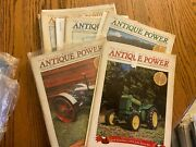 6 Vintage Antique Power Tractor Collector Magazines 1998 Complete Year W Sleeves