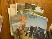 5 Vintage Antique Power Tractor Collector Magazines 1997 Year W Sleeves